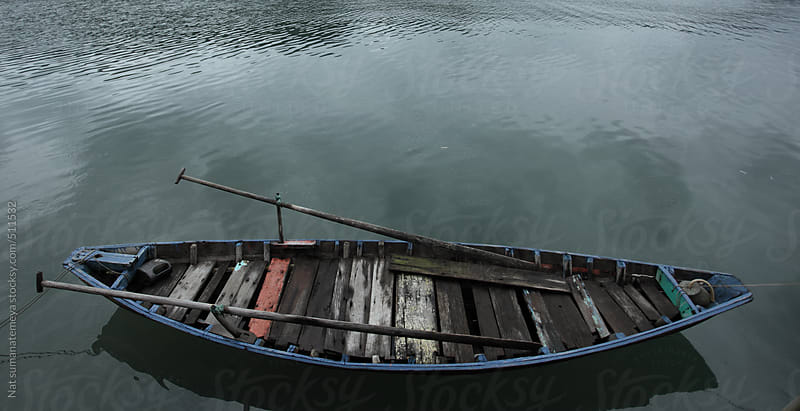 local fishing boat by Nat sumanatemeya for Stocksy United