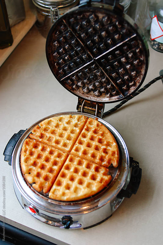 Vintage Waffle Maker by Raymond Forbes LLC for Stocksy United