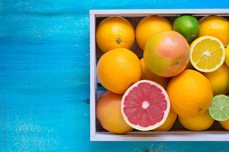 Citrus fruits  by Pixel Stories for Stocksy United