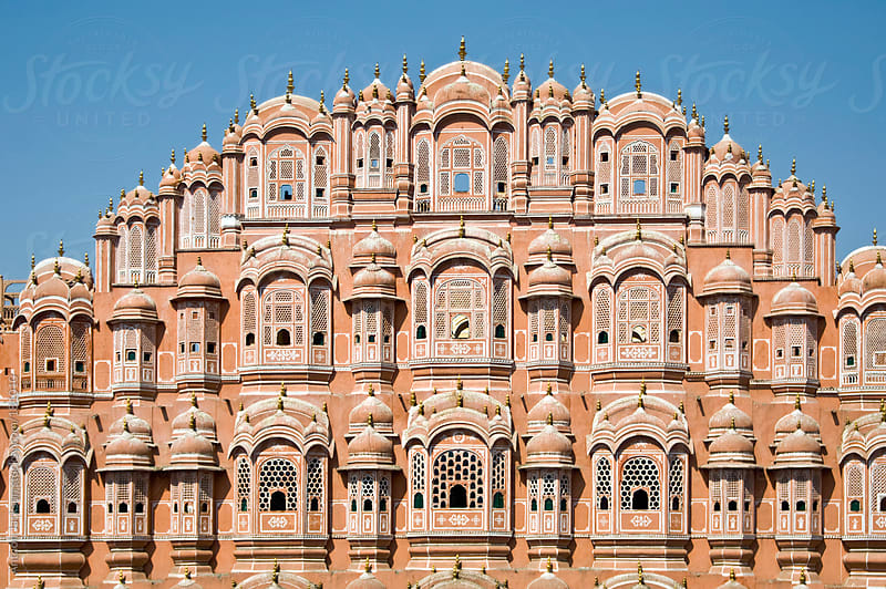 Hawa Mahal, India by Anthon Jackson for Stocksy United