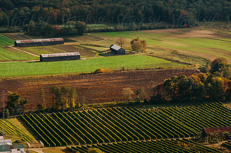 Farmland in Rural Pioneer Valley of Massachusetts by Raymond Forbes LLC for Stocksy United
