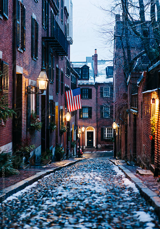 Beacon Hill Neighborhood of Boston by Raymond Forbes LLC for Stocksy United