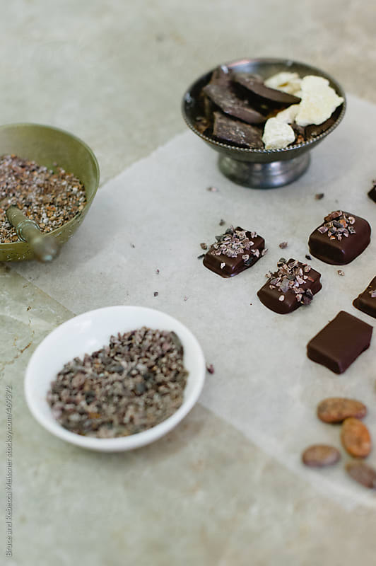 Chocolate Ingredients by Bruce and Rebecca Meissner for Stocksy United