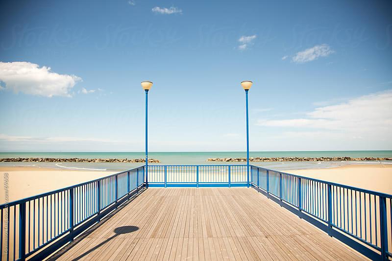 boardwalk by Tommaso Tuzj for Stocksy United