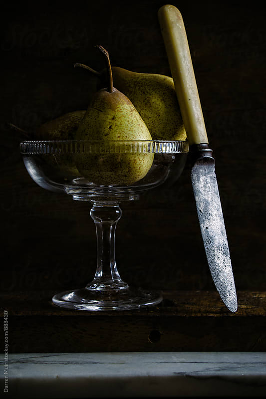 Pears still life. by Darren Muir for Stocksy United