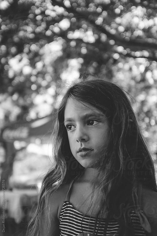Portrait of a Little Girl by Dejan Ristovski for Stocksy United