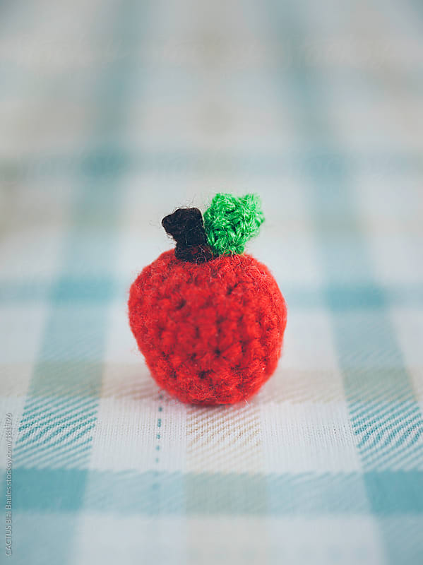 Petite apple - Amigurumi by CACTUS Blai Baules for Stocksy United