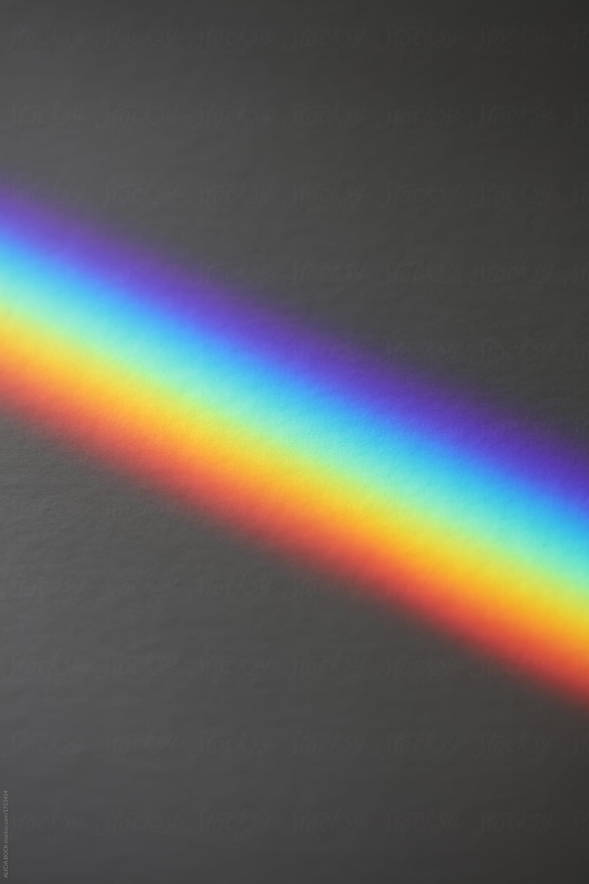 Close Up Of A Rainbow Made By A Prism by ALICIA BOCK for Stocksy United