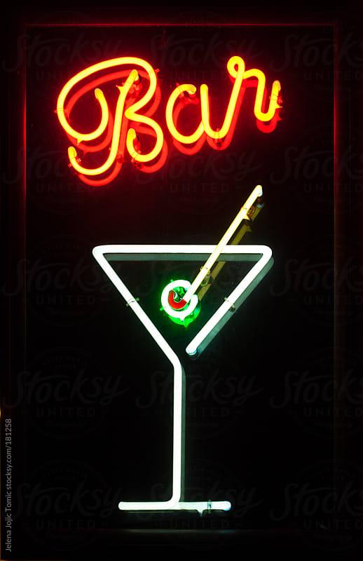 Bar sign by Jelena Jojic Tomic for Stocksy United