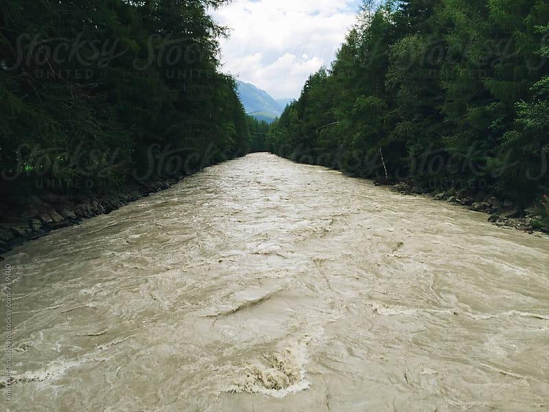 Glacier river by Dimitrije Tanaskovic for Stocksy United