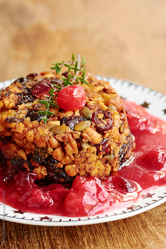 Tofu, Fruit and Nut Terrine by Harald Walker for Stocksy United