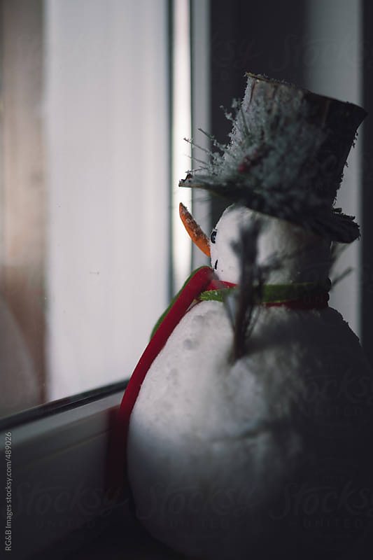 waiting for Christmas  by RG&B Images for Stocksy United