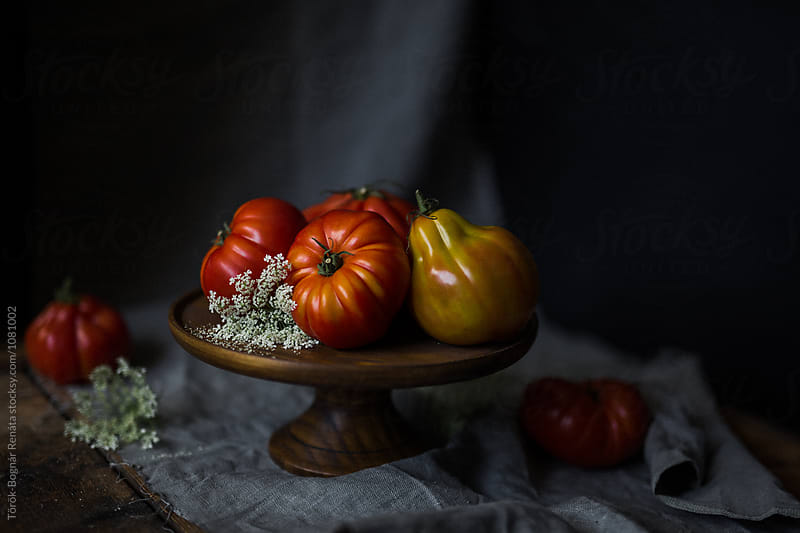 Fresh tomatoes by Török-Bognár Renáta for Stocksy United
