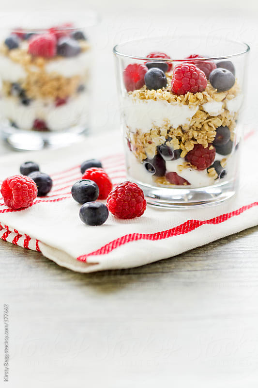 Granola Parfait Vertical by Kirsty Begg for Stocksy United