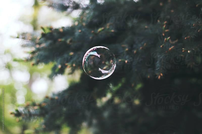 Bubble in the air by Jovana Rikalo for Stocksy United