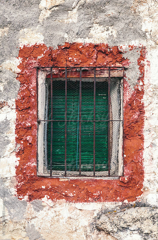 Antique Rural Window by VICTOR TORRES for Stocksy United