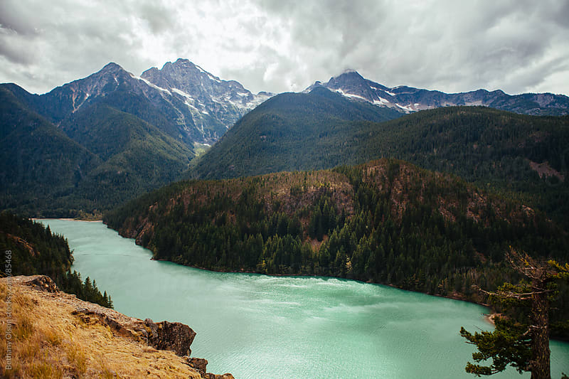 Diablo Lake by Bethany Olson for Stocksy United