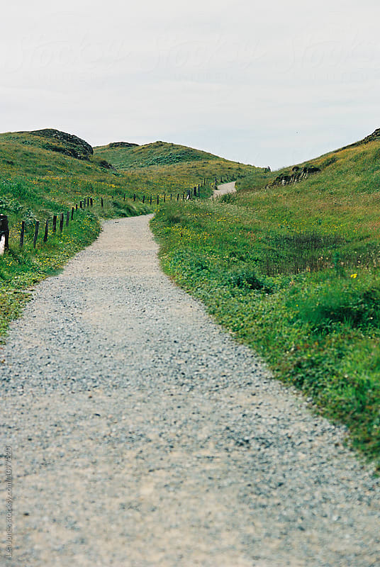 walking path on a an island by Léa Jones for Stocksy United
