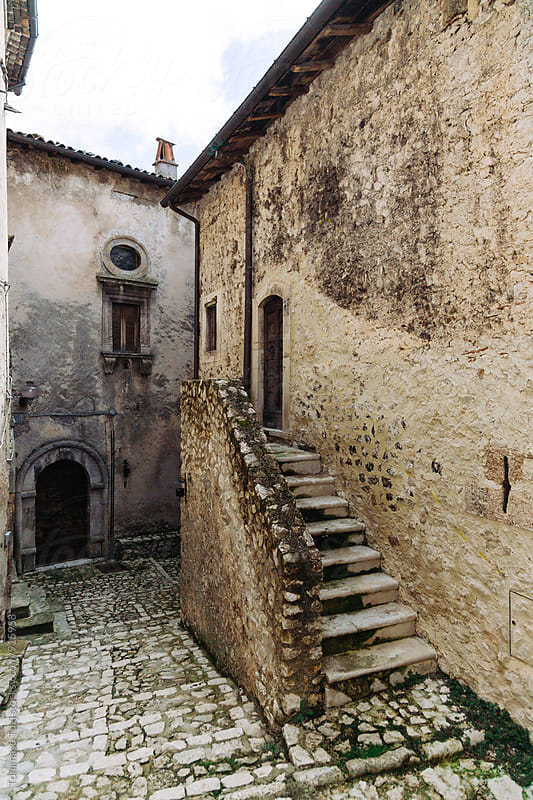 Medieval hill town, Italy by Tommaso Tuzj for Stocksy United