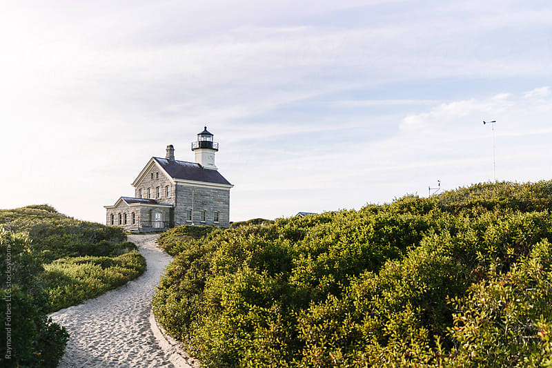Block Island North Lighthouse by Raymond Forbes LLC for Stocksy United