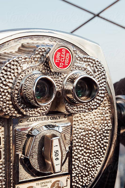 Viewing binoculars by Sam Burton for Stocksy United