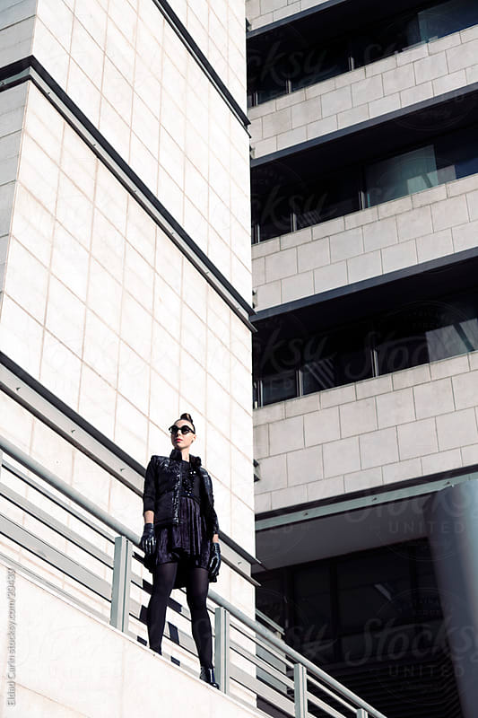 Urban Winter Fashion Girl by Eldad Carin for Stocksy United
