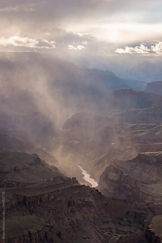 Clearing Storm, Grand Canyon by Adam Nixon for Stocksy United
