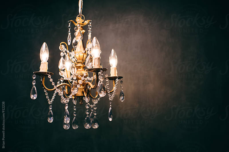 fancy chandelier  by Brian Powell for Stocksy United