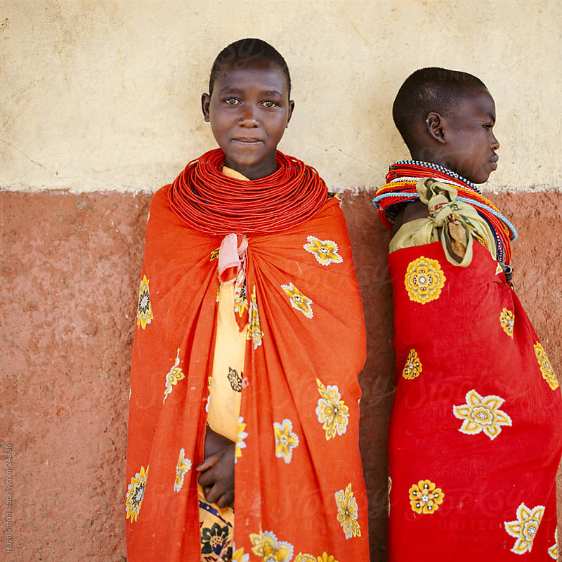 Portrait of tribal people. Kenya. by Hugh Sitton for Stocksy United
