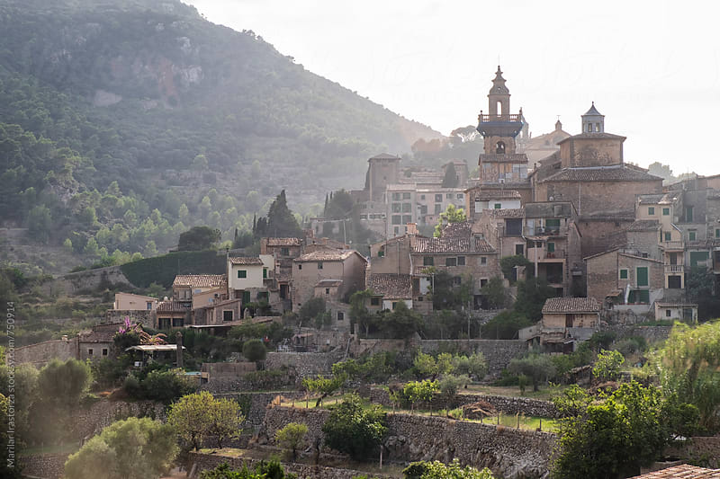 View of Valldemosa, Balearic Islands, Spain by Marilar Irastorza for Stocksy United