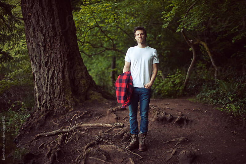 Woods Man by Kevin Russ for Stocksy United