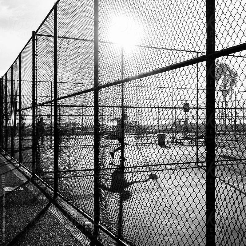 Paddle Tennis Court by Good Vibrations Images for Stocksy United
