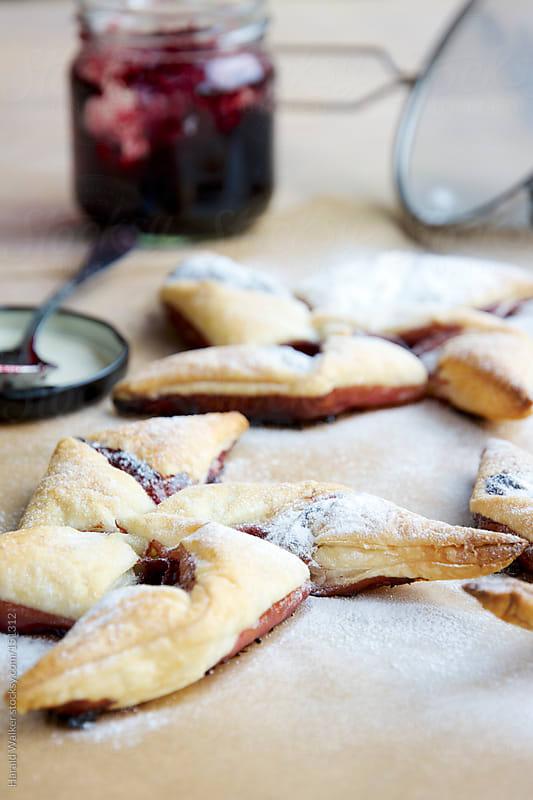 Elderberry Jam Pinwheels by Harald Walker for Stocksy United
