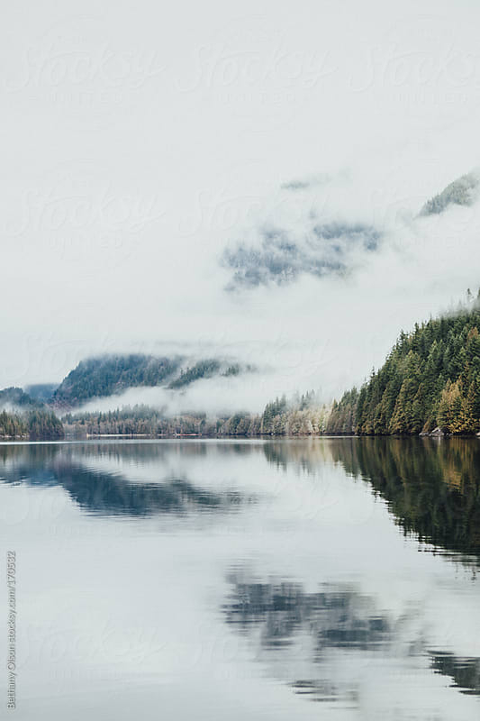 Buntzen Lake by Bethany Olson for Stocksy United