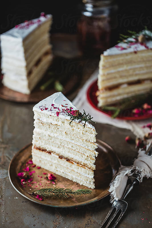 Naked cake by Tatjana Ristanic for Stocksy United