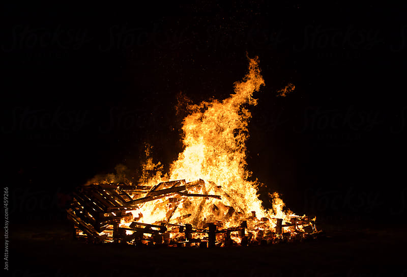 Bonfire by Jon Attaway for Stocksy United