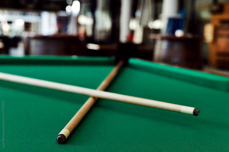 billiard table by juan moyano for Stocksy United