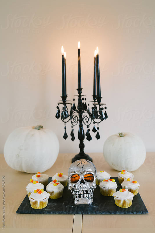 Halloween party decor  by Tara Romasanta for Stocksy United