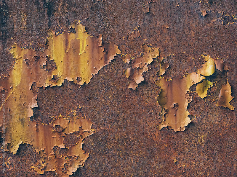 rusty metal by unite images for Stocksy United