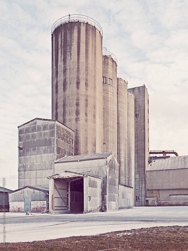Limestone quarry by Photographer Christian B for Stocksy United