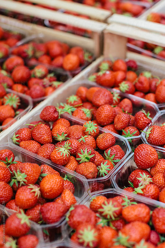 Fresh Strawberries by Zocky for Stocksy United