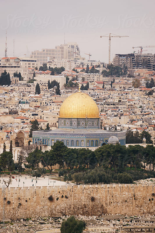 Dome of the Rock in Jerusalem by B. Harvey for Stocksy United