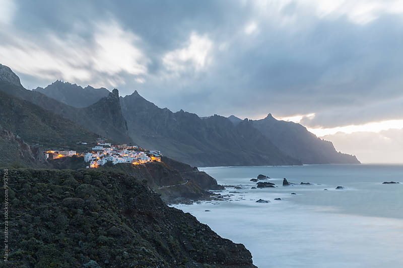 Dusk on the coast of Tenerife by Marilar Irastorza for Stocksy United