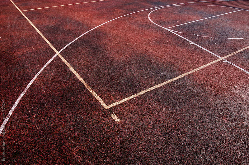 Basketball Court Background by Branislav Jovanović for Stocksy United