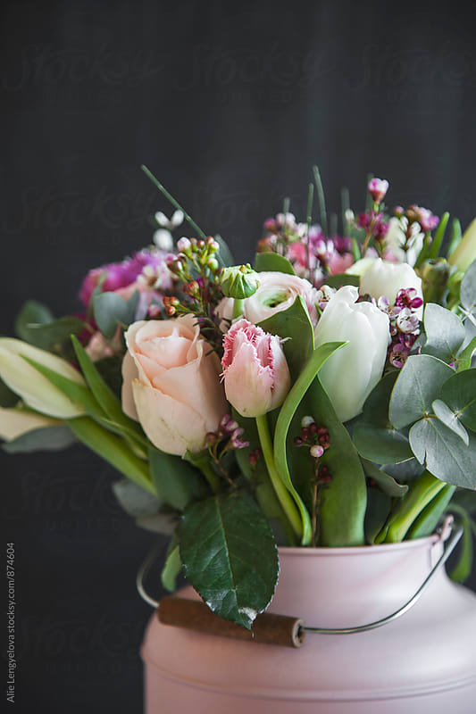 Valentine Bouquet by Alie Lengyelova for Stocksy United