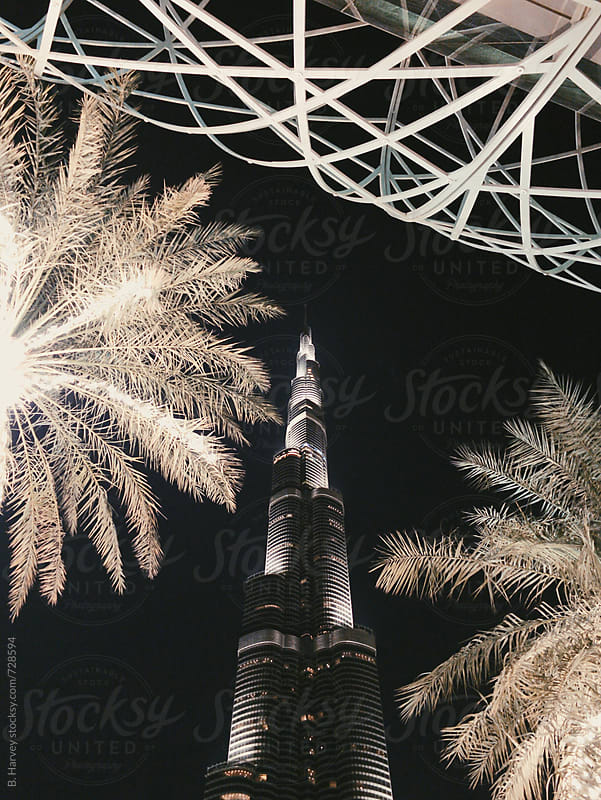 Skyscraper in Dubai by B. Harvey for Stocksy United