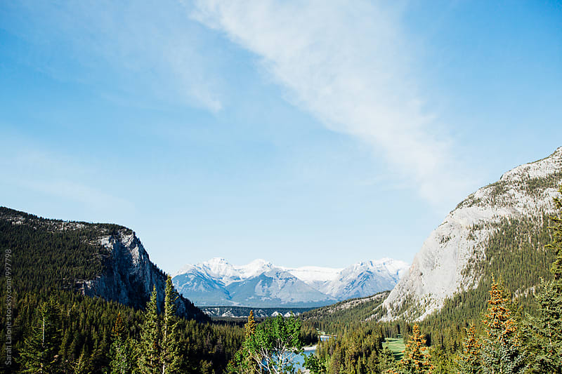 Banff by Sarah Lalone for Stocksy United