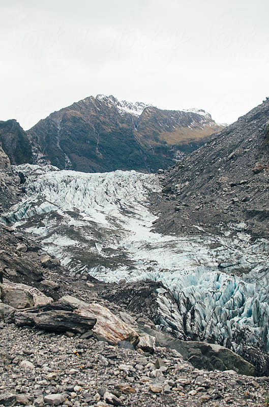 Fox Glacier in New Zealand by Dominique Chapman for Stocksy United
