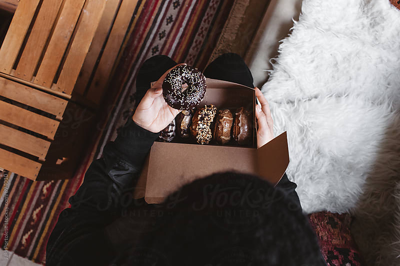 Vegan donuts by Jaki Portolese for Stocksy United