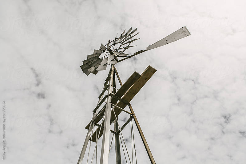 Windmill by Mary-Anne Grobler for Stocksy United